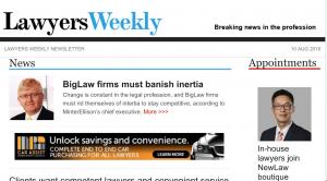 Lawyers Weekly 160809